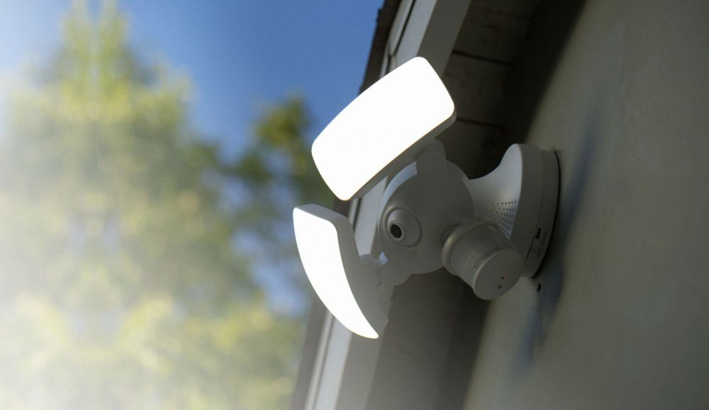 san antonio smart video security light installation